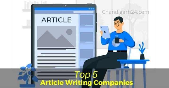 Top 5 Article Writing Companies in India