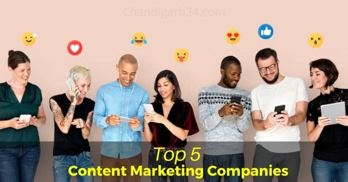 Top 5 Content Marketing Companies in India